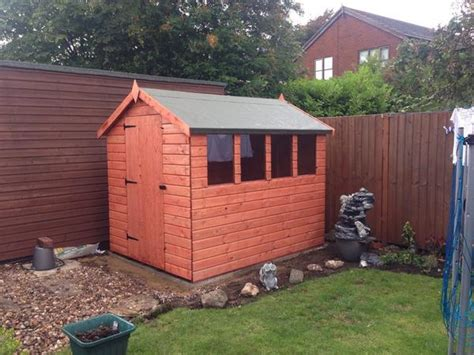 apex garden sheds warrington cheshire