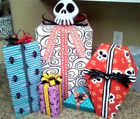 nightmare before christmas gift wrap x mas