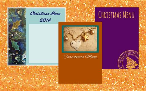 printable christmas menu cards freebie fridays 34 printable christmas menu cards the