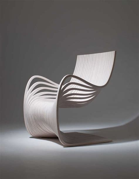 Beautiful And Elegant Wooden Chair Made From Curved   beautiful and elegant wooden chair made from curved