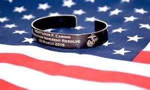 Usmc Kia Bracelet Memorial Bracelet Honor The Fallen Pow