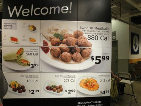 Menu Ikea ikea food menu www pixshark images galleries with