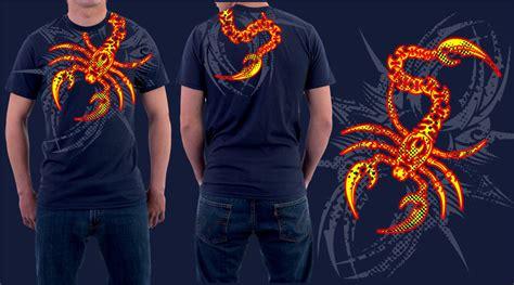 Blouse Rajut Scorpion Size L scorpion t shirt by jhin22000 on deviantart