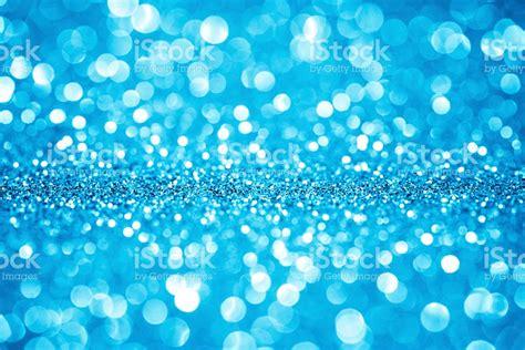 glitter lights blue glitter defocused lights abstract background stock