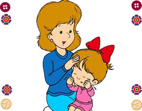 imagenes infantiles por el dia de la madre dibujo de la madre e hija pintado por dulsesitha en