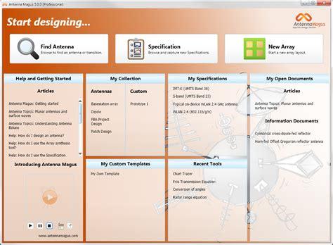 version  antenna design software tool engineer
