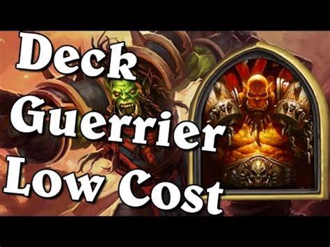 hearthstone deck low cost hearthstone deck low cost l 233 gende guerrier
