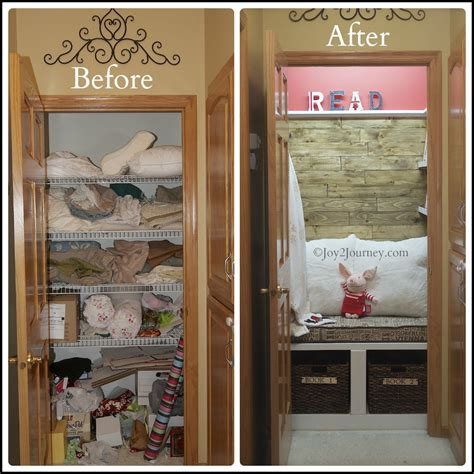 Reading Nook Closet by Reading Nook Before And After 2 Journey
