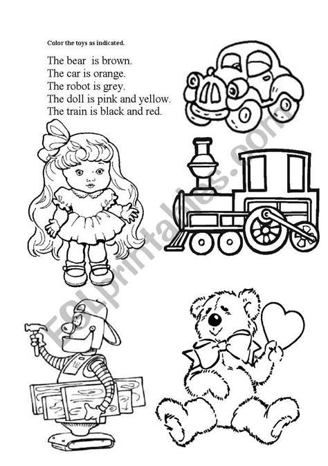toys esl worksheet by isabel oliveira