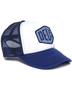 Topi Trucker Deus Logo Gt6 deus ex machina trucker cap baylands trucker in white