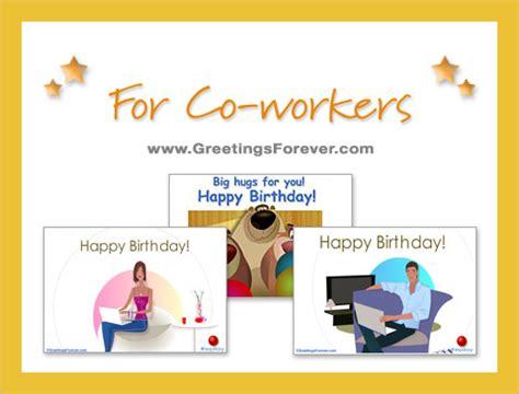 printable birthday cards coworker birthday ecards for co workers free birthday ecards for