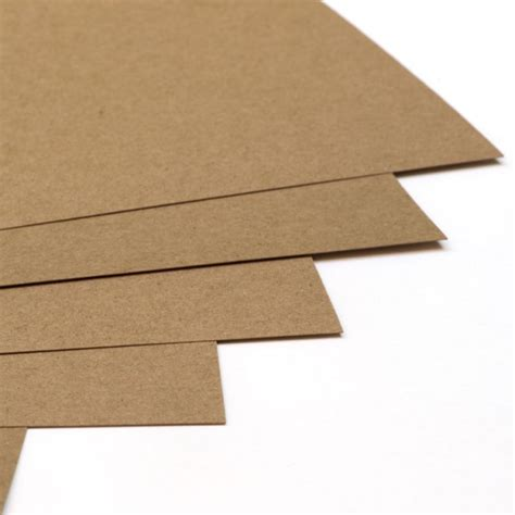 Paper For Card - brown paper bag card stock