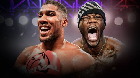 In Search Of The Wilder Deontay Wilder Must Echo Anthony Joshua S Risk Taking To Cement His World Title