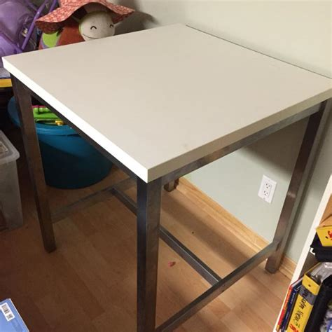 Utby Bar Table Find More Ikea Utby Bar Table For Sale At Up To 90 Vaudreuil Qc