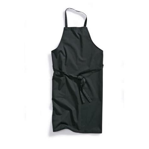 tablier de cuisine noir tablier de cuisine 224 bavette noir
