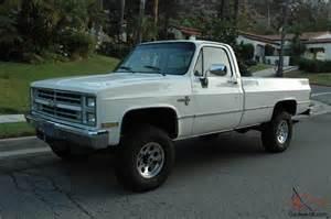 1987 chevy 3 4 ton 4x4