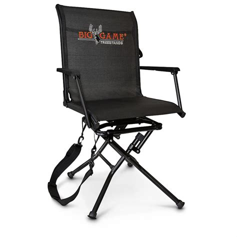 Ground Blind Chairs by Big Swivel Ease Blind Chair 597915 Ground Blinds