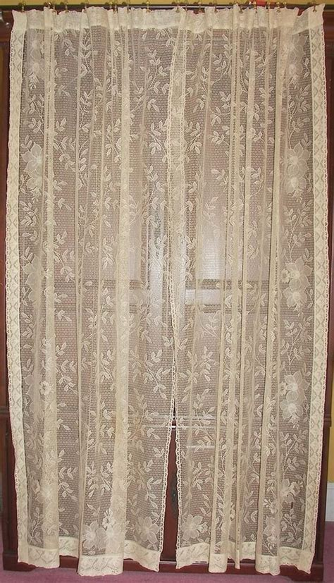 Vintage Lace Curtains 213 Best Images About Vintage Lace Curtains On Baroque Curtains Drapes And Shabby