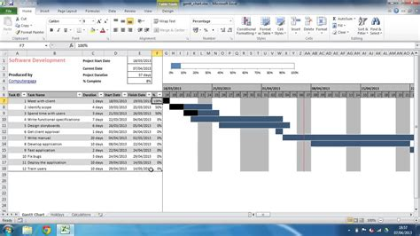 gantt chart for excel template excel spreadsheet gantt chart template spreadsheet