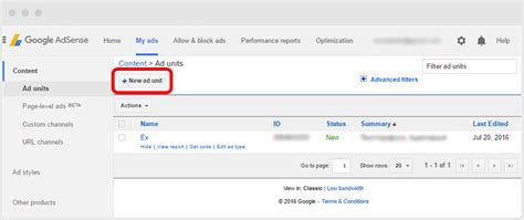 adsense url of your site youtube yottie quot adsense quot tab and how to earn money on your website