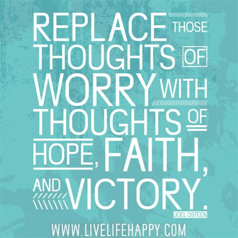 replace  thoughts  worry  thoughts  hope fai flickr