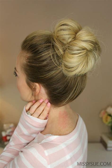 25 hairstyles with tutorials for best 25 bun tutorials ideas on