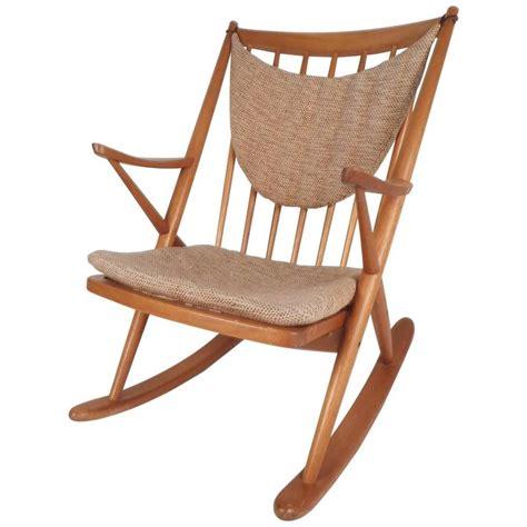 mid century modern rocking chair mid century modern frank reenskaug for brahmin mobler