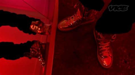 raf simons shoes asap rocky asap rocky wearing christian louboutin mikaraja flat loafers in wassup upscalehype