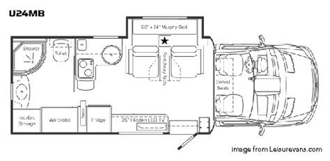 leisure floor plans the best small rv s living large in a small space