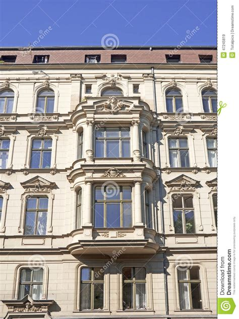 berlin appartments berlin apartment house stock photo image 47245819