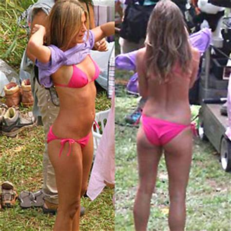 Aniston Slips Into A Pink For Day In The Sun by Aniston Just Go With It Pictures