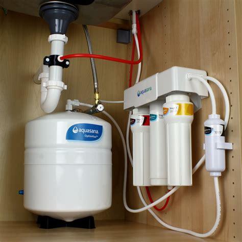 osmosis sink filter aquasana optimh2o osmosis water filter with