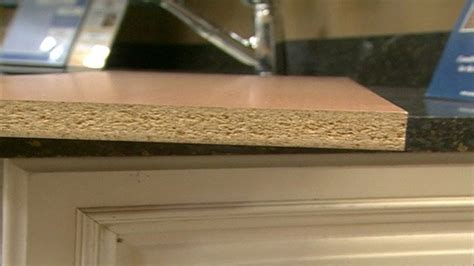 mold under sink particle board particle board vs plywood cabinets