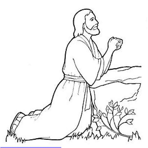 coloring pages jesus praying jesus praying in gethsemene lds