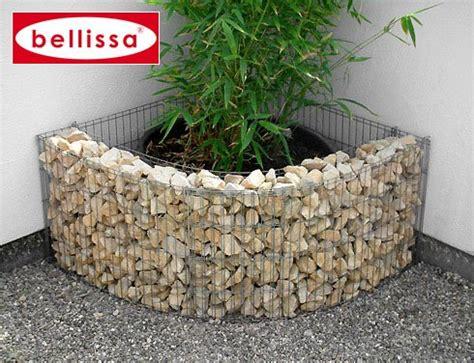gabbioni in pietra in giardino idee e consigli