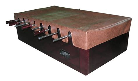 Foosball Table Cover by Foosball Table Cover In Brown Supplies Accessories