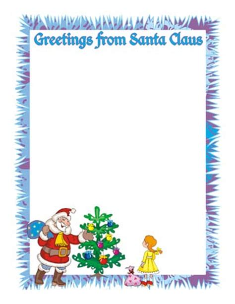 free printable letter from santa claus uk letter from santa clipart bbcpersian7 collections
