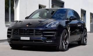 Porsche Macan Wheels Porsche Macan Turbo On Vossen Wheels