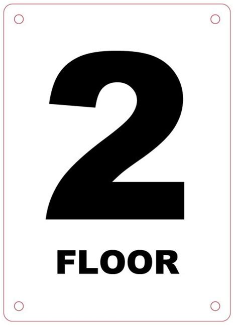 floor number nyc department sign floor number sign hpd signs the official store