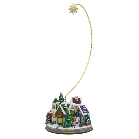 christmas village ornament stand by christopher radko