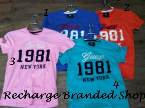 Kaos Branded Guess recharge branded shop kaos guess