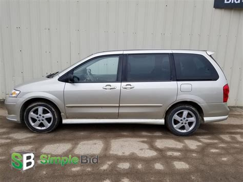 mazda minivan simplebid inc 2003 mazda mvp minivan