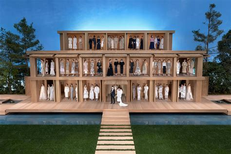 eco dolls house chanel creates eco friendly minimalist life size doll house with a zen garden