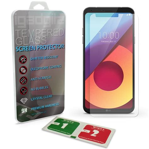 Hyper Glass Lg Q6 Clear Tempered Glass Anti Gores Kaca 1 igadgitz tempered glass screen protector for lg q6 m700n