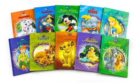 disney s classics books disney collectible hardcover classics 10 book set groupon