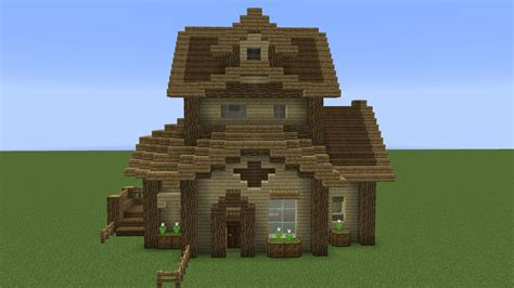 wooden house in minecraft quick wooden minecraft house youtube