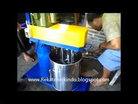 mesin pengaduk mixer roti