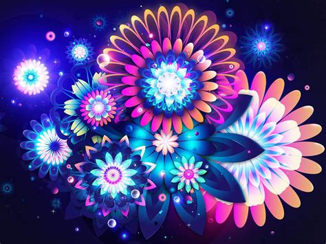 cool flower backgrounds cool abstract flowers wallpaper 1600x1200 10165