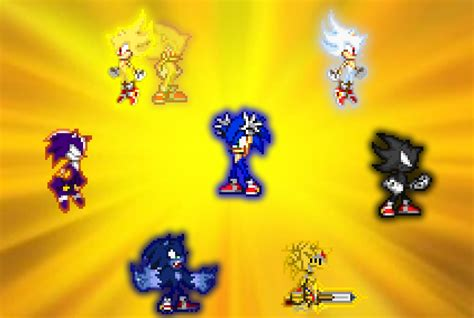 Gallery Ultimate Sonic Form