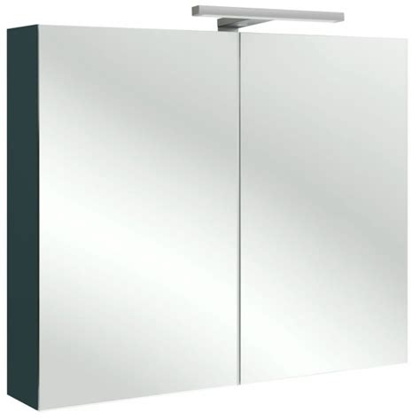 Armoire De Toilette 80 Cm by Armoire De Toilette 80cm 2 Portes Avec 233 Clairage Led